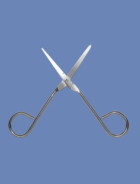 Sharp/Blunt Scissors - Disposable Instrument for Medical use (Sharp / Blunt Scheren - Einmal-Instrumenten für die medizinische Anwendung)
