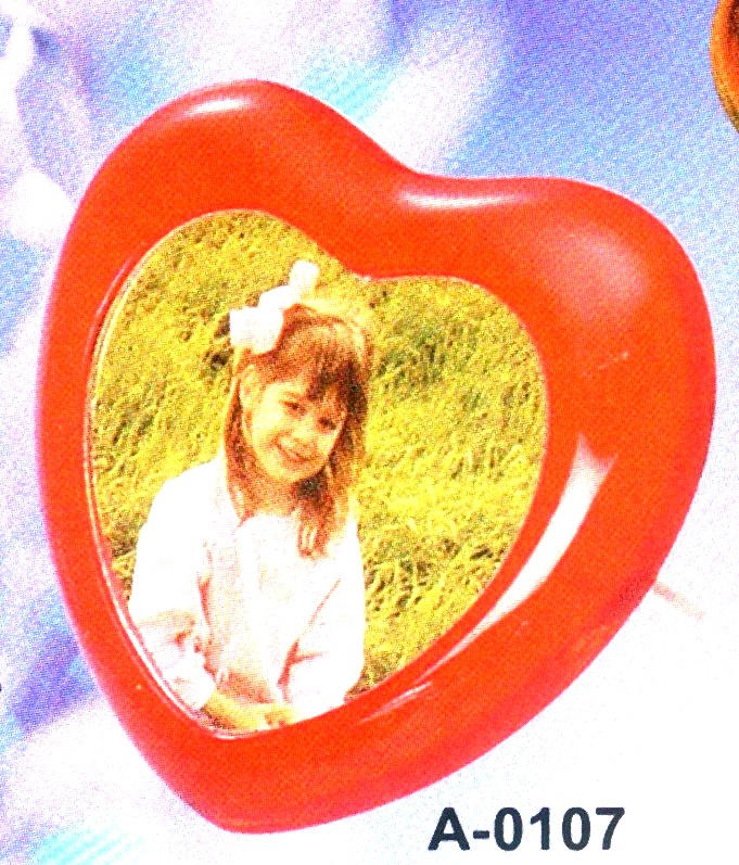 Big Heart Shape Photo Frame (Big Heart Shape Photo Frame)