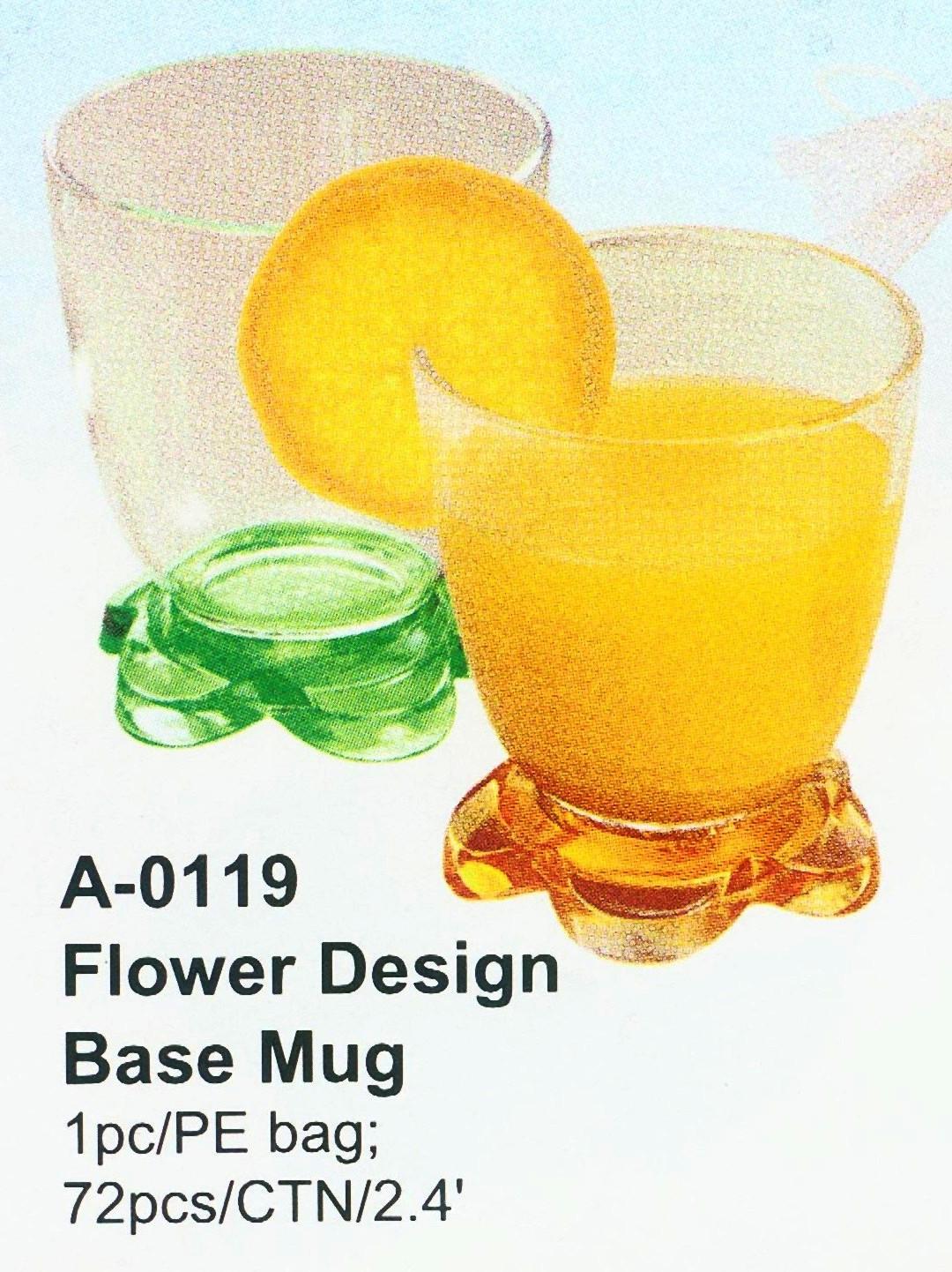 Flower Design Base Mug (Цветочный дизайн базы Кружка)