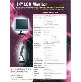 *14 LCD panel, 14 TFT LCD (* 14 ЖК-панель, 14 TFT LCD)