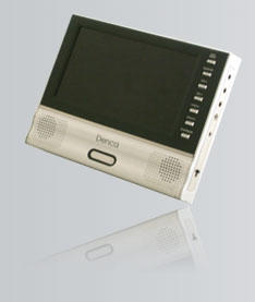 portable DVD player, 7``DVD player, 7`` LCD panel,