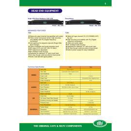 Head End Equiptment, Demodulator, single side band Modulator VHF/UHF (Head End изделия, демодулятор, одну сторону группы модулятор VHF / UHF)
