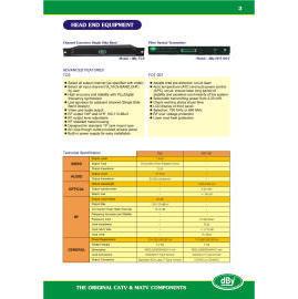 Head End Equipment,demodulater, single side bad modulator (Head End оборудования, demodulater, одна сторона плохо модулятор)