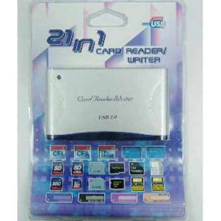 21 in 1 card reader