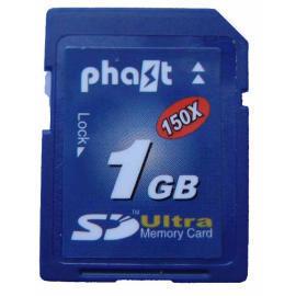 Phast Secure Digital Card, SD 150X 1GB