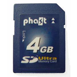 Phast Secure Digital Card, SD 4GB