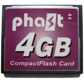 Phast CF Memory card 4GB