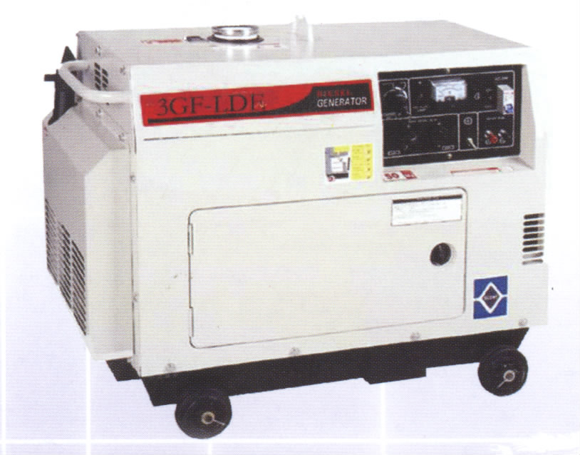 Air-Cooled Silent Diesel Generator Set