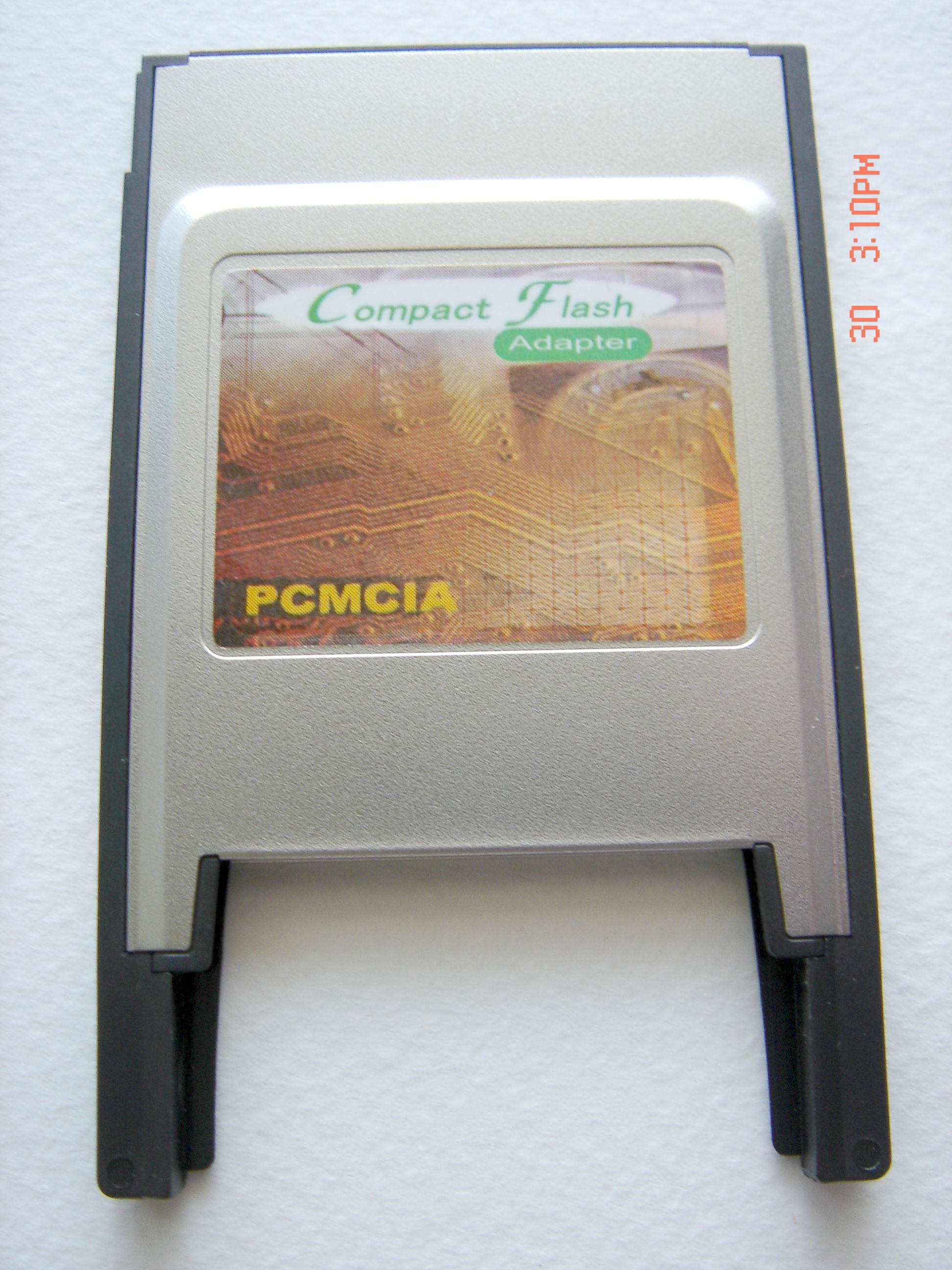 PCMCIA CF Memory Adapter (PCMCIA CF памяти видеоадаптера)