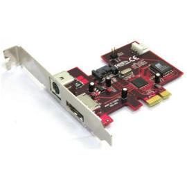 SATA II  V 3Gbps 1 External & 1 Internal 2Ports PCI-Express Host with 5V&12V ou