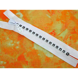 Rhineston Zipper