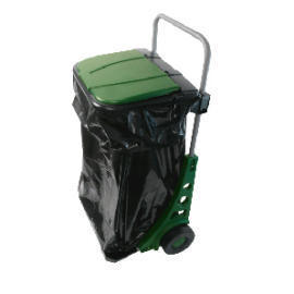 Garden Cart for Collection and Removing Garden Waste,Weeds and trash