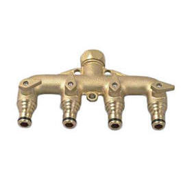 Snap-on Brass Manifold 4-way Tap