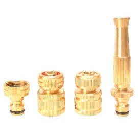 4-PC Brass Watering Set