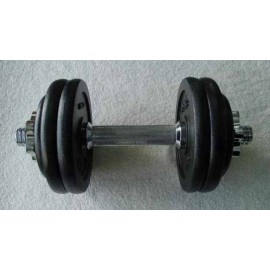 15KGS Black Dumbbell Set