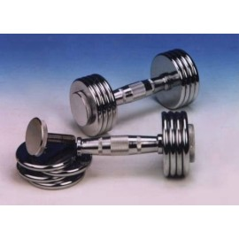 Adjustable Chrome dumbbell 1kg~5kg