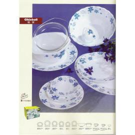 OPAL GLASSWARE/DINNER GLASSWARE (OPAL ПОСУДЫ / ужин ПОСУДЫ)
