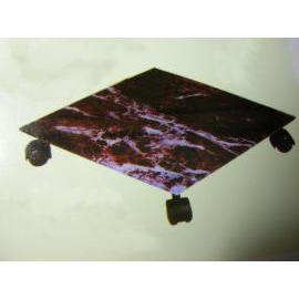MOBILE FLOWERPOT RACK (MOBILE RACK горшок)