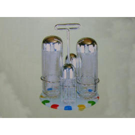 S/P SET/CONDIMENT RACK/OVSP SET/SALT & PEPPER SET