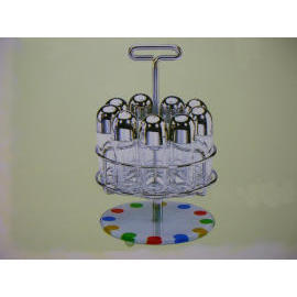 CONDIMENT RACK/OVSP SET/SALT & PEPPER SET
