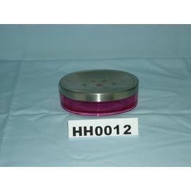 Snare series soap dish w/stainless steel top rim (Snare серия мыльницы Вт / нержавеющая сталь верхнего края)