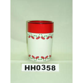 Snare series double color tumbler cherry paint (Snare серию двойной стакан вишневого цвета краска)