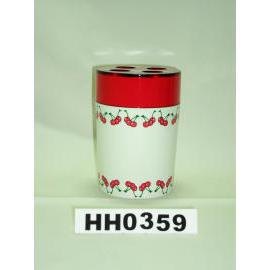 Snare series double color toothbrush holder cherry paint (Snare серию двойной держатель зубной щетки вишневого цвета краска)