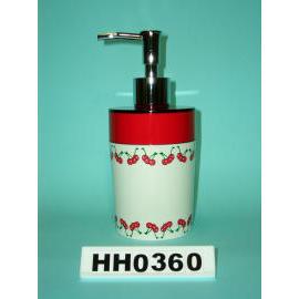 Snare series double color lotion dispenser cherry paint (Snare Серия двойных дозатором лосьона вишневого цвета краска)
