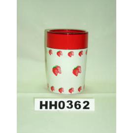 Snare series double color tumbler strawberry paint (Snare серию двойной стакан клубничного цвета краска)