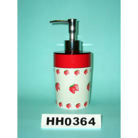 Snare series double color lotion dispenser strawberry paint (Snare Серия двойных цвета лосьон дозатором клубника краска)