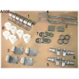 Cam Lock Set With Large Size (stainless)
