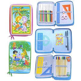 Tin Box Stationery Set