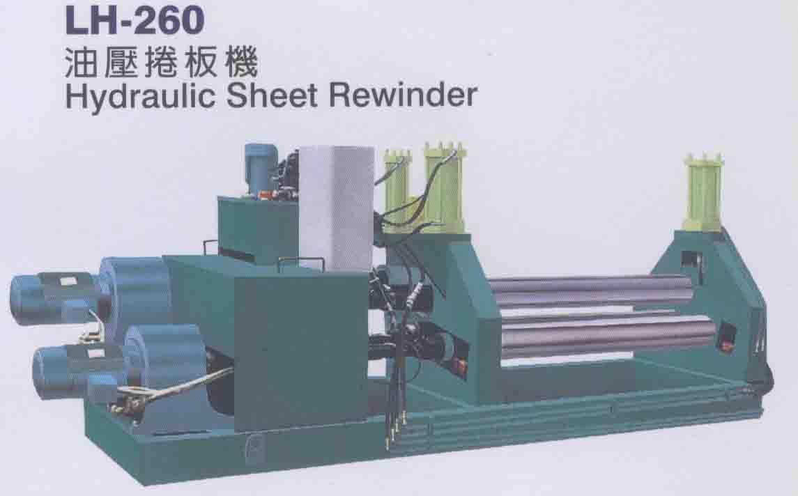 Hydraulic Sheet Rewinder (Гидравлические Лист Rewinder)