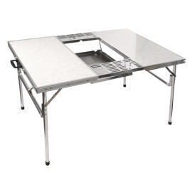 FOLDING PORTABLE BBQ TABLE