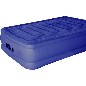 Secure System Air Bed with Built-In Electric Pump