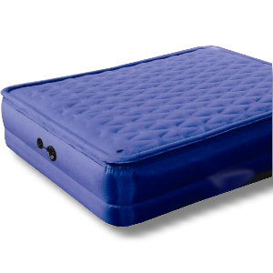 Pillow Top Air Bed with Built-In Electric Pump