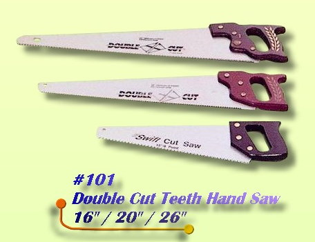 Double Cut Hand Saw