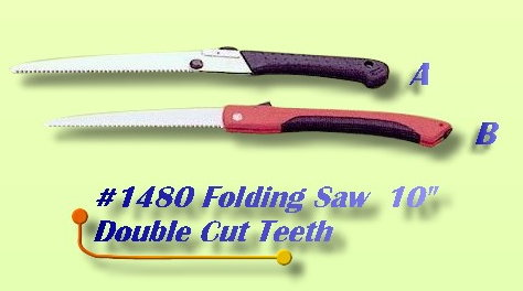 Folding Saw Double Cut