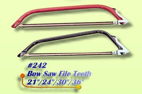 Bow Saw File Teeth (Лучковая файла зубов)