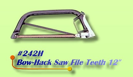 Bow-Hack Saw File Teeth