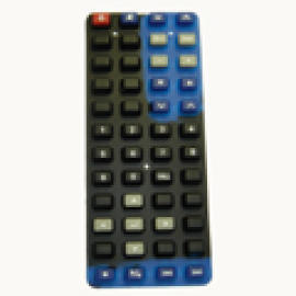 AV REMOTE CONTROL KEYPAD, rubber keypad, keypad, silicon