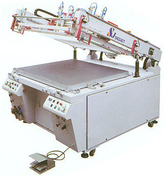 HIGH PRECISION FLAT BED SCREEN PRINTING MACHINE FOR PCB
