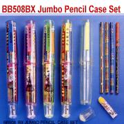 Jumbo Pencil Case Set (Jumbo Пенал Установить)