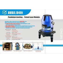 Avail D40t, Line Laser, Laser Level, Laser, Level
