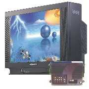 Flat Screen HDTV / Moniotr (DM-5952SF + CT-1890) (С плоским экраном HDTV / Moniotr (DM-5952SF + КТ 890))