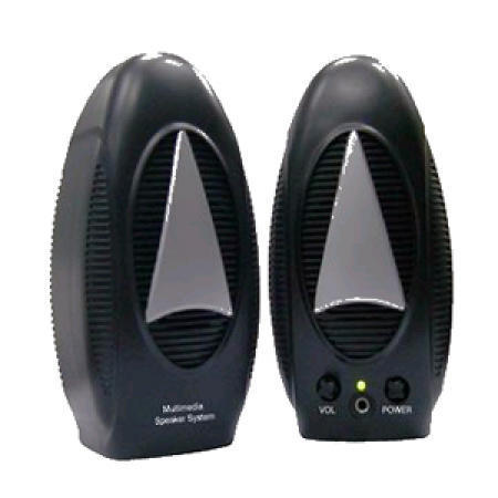 Entry Level Multimedia Speaker Set with 2.25-Inch Cone Type Driver