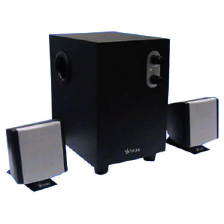 4-Inch 2.1-Channel Multimedia Subwoofers with 20Hz to 20kHz Frequency Response