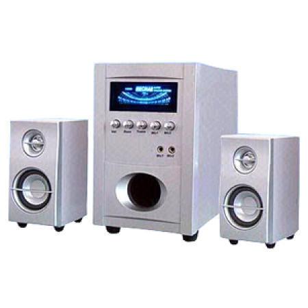 2.1 VFD Subwoofer Speaker System with Karaoke Function