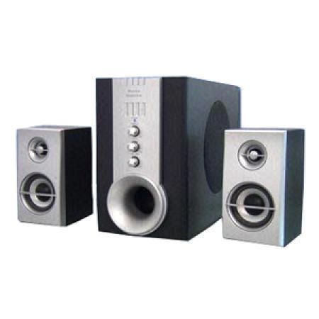 Magnetically-Shielded 2.1 Subwoofer Speaker System with Built-in Amplifier (Магнитоэкранированные 2,1 сабвуфер акустическая система со встроенным усилителем)