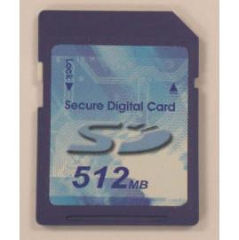 Secure Digital Card 128MB/256MB/512MB/1G/2G/4G (Secure Digital Card 128MB/256MB/512MB/1G/2G/4G)